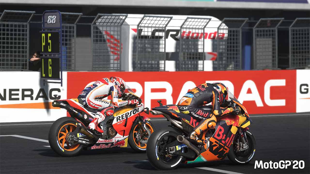 MotoGP 20 llegará el 23 de abril a consolas y PC 5
